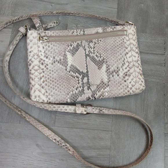 Cole Haan Handbags - Cole Haan Crossbody Bag in Snakeskin Leather